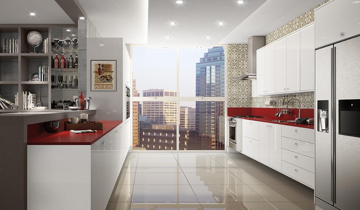 Cozinha Planejada Pequena Para Apartamento Office E Home