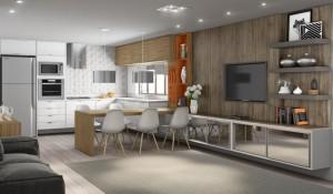 Integrados Cozinha com a Sala