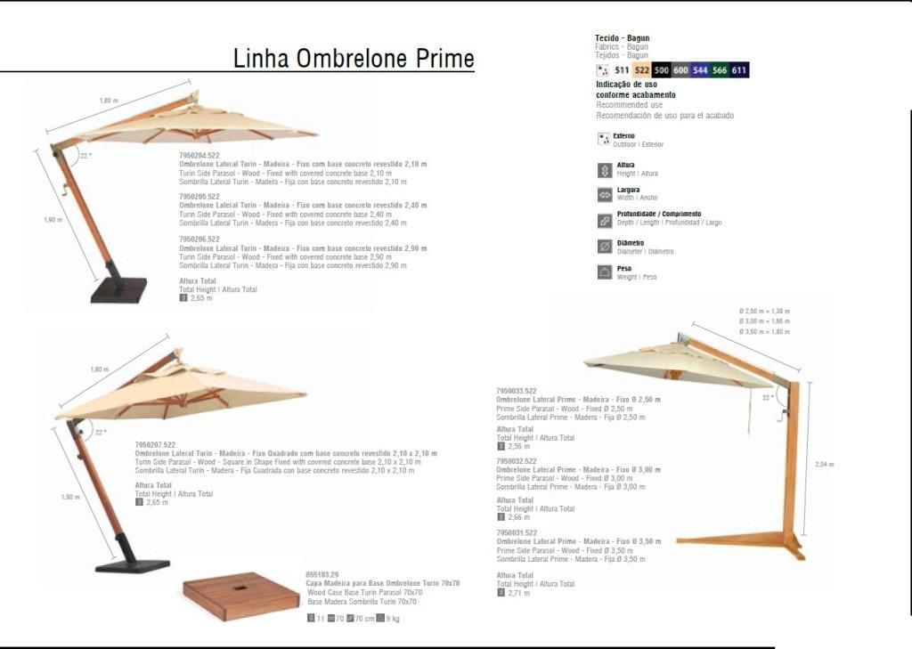Linha Ombrelone Prime 1