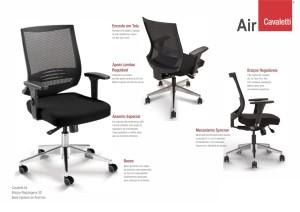 cadeiras -cavaletti-air