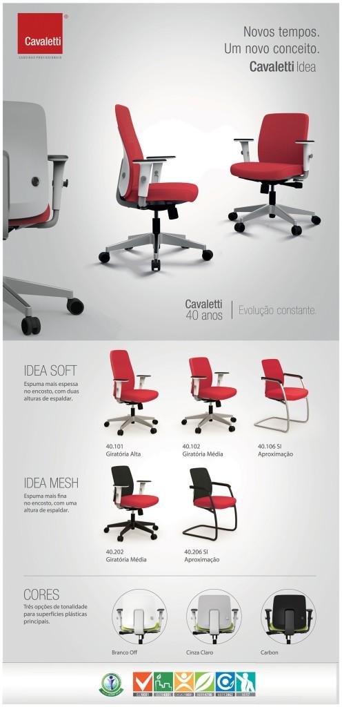 cadeiras idea cavaletti
