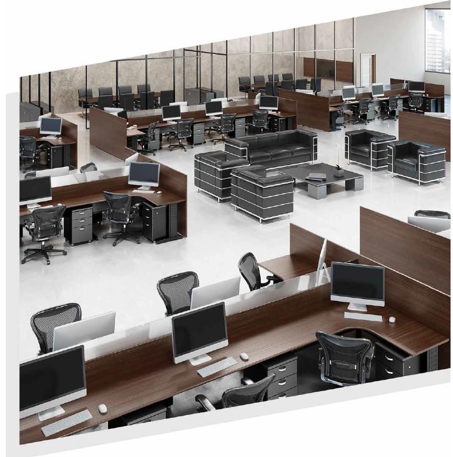mesas para escritório  - Linha Gold 4