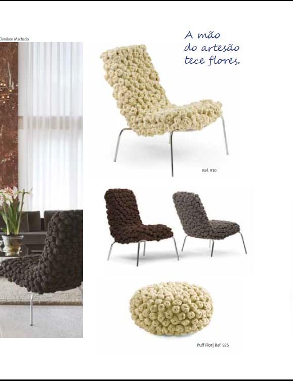 cadeira flor